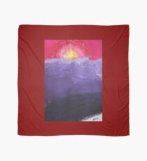 Fire on the Mountain original painting Scarf