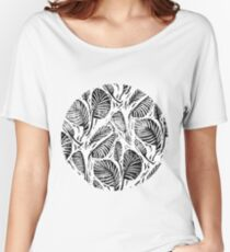 Jungle - Tropical leaves Women's Relaxed Fit T-Shirt