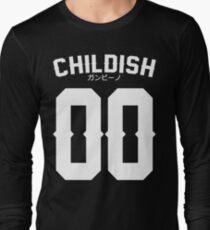 Childish Jersey v2: White Long Sleeve T-Shirt