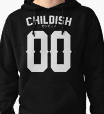 Childish Jersey v2: White Pullover Hoodie