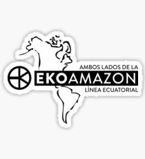 EKOAMAZON Both Sides Sticker
