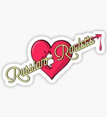 Russian Roulette Sticker