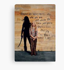 This is Who I Am Metal Print