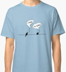 Two Birds on a Wire Classic T-Shirt