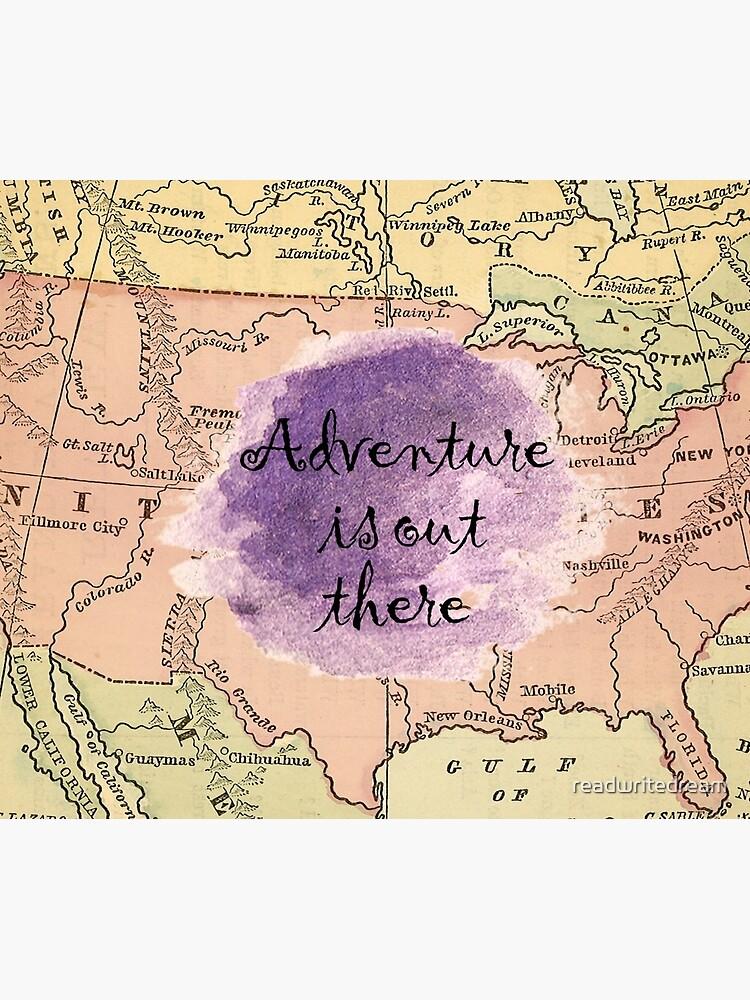 La aventura está ahí fuera de readwritedream