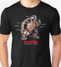 Gamera Anatomy Unisex T-Shirt