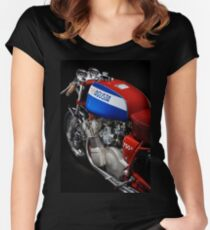 Classic MV Agusta 750 S Women's Fitted Scoop T-Shirt