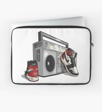 Vintage Hip-hop Basketball Graphic Laptop Sleeve