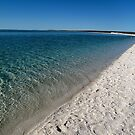 Sea and Sand near Geraldton W.A. by Christina Backus