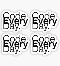 Code Every Day Sticker