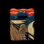 Cookie Monster Scream by rhaeyntargaryen