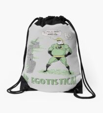 Mr Egotistical Drawstring Bag