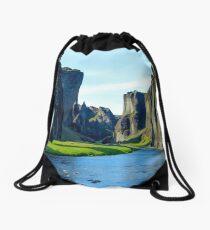 iceland Drawstring Bag