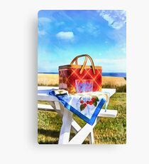 Summer Picnic Acrylic Canvas Print