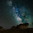 Rock Cut Milky Way by Gary Lengyel