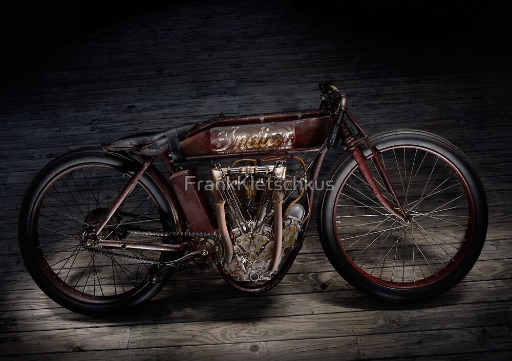Indian Board Tracker Original and Unrestored No.2 by Frank Kletschkus