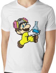 Breaking Bad Super Mario Mens V-Neck T-Shirt