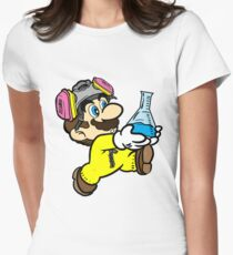 Breaking Bad Super Mario Women's Fitted T-Shirt