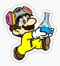Breaking Bad Super Mario Sticker