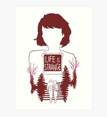 LIFE IS STRANGE - MAX Art Print