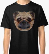 Pug Portrait Classic T-Shirt