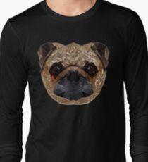 Pug Portrait Long Sleeve T-Shirt