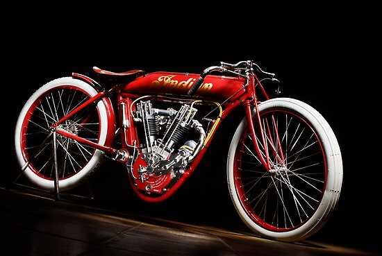 Indian 8-Valve Board Tracker by Frank Kletschkus