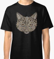 Tribal Cat Portrait Classic T-Shirt