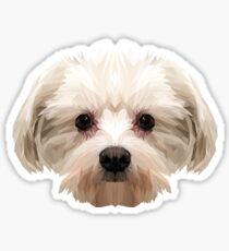 Maltesischer Hund. Sticker
