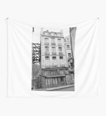 Paris 1975 a forgotten past and now destroyed  Olao-Olavia by Okaio Créations   n2 (h) Wall Tapestry