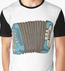 Blue Russian Bayan Graphic T-Shirt