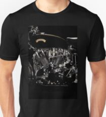 Vincent Black Shadow Engine T-Shirt