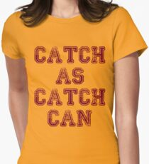 catch wrestling 2 Womens Fitted T-Shirt