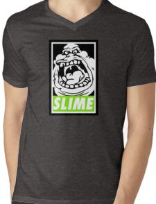 Obey Slimer Mens V-Neck T-Shirt