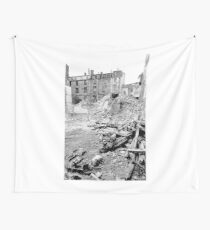 Paris 1975 a forgotten past and now destroyed  Olao-Olavia by Okaio Créations   n4 (h) Wall Tapestry