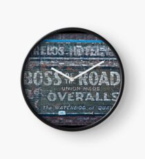 Ghost Sign: Boss of the Road, Sacramento Clock