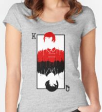 Kell and Lila [A Darker Shade of Magic] Women's Fitted Scoop T-Shirt