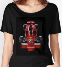 1974 Lola T332  F5000 Race Car Women's Relaxed Fit T-Shirt