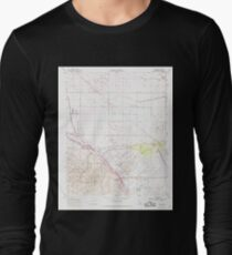 USGS TOPO Map California CA Tupman 301001 1954 24000 geo Long Sleeve T-Shirt