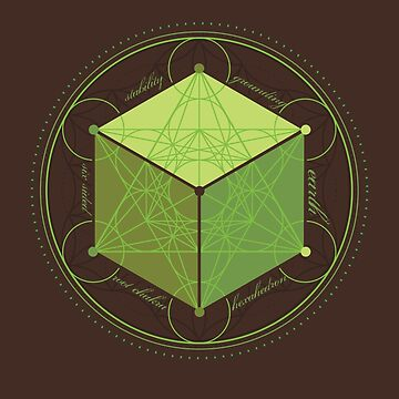 Earth Hexahedron by StudiodeBoer