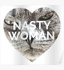Böse Frau Tshirt Poster