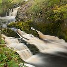 Beezley Falls, Ingleton by Stephen Knowles