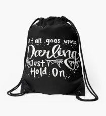 Darling, Just Hold On - Louis Tomlinson Drawstring Bag