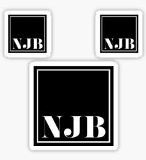 NJB NICE JEWISH BOY Sticker