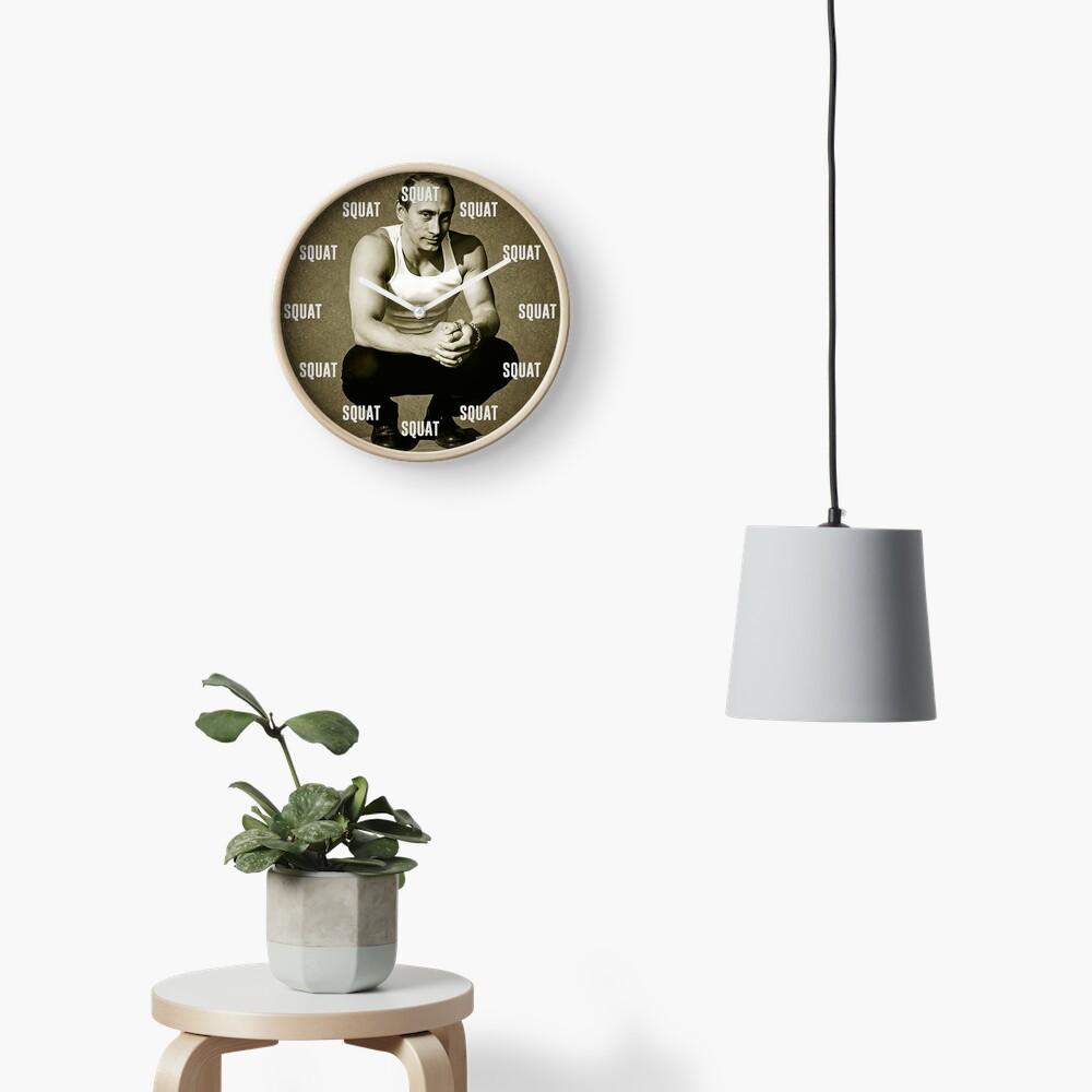 Squat O clock Clock