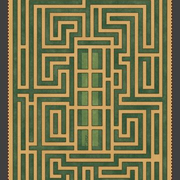 The Overlook Hotel Maze by FuhrerDoodles