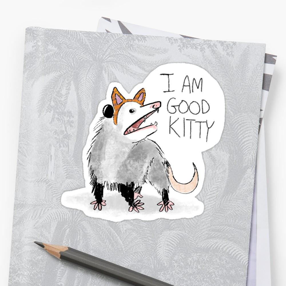 """""""ICH BIN GUT KITTY"""" Design von Lindsay Scanlan"""