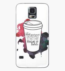 Mit großer Kraft ... [Percy Jackson] Hülle & Klebefolie für Samsung Galaxy