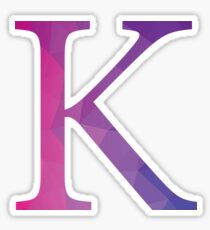 Kappa-purple Sticker