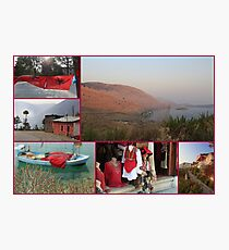 Collage/Postcard from Albania - Travel Photography Photographic Print
